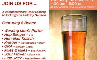 Henniker Brewing Company – Beer Tasting