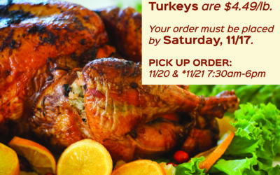 Order Thanksgiving Turkey!