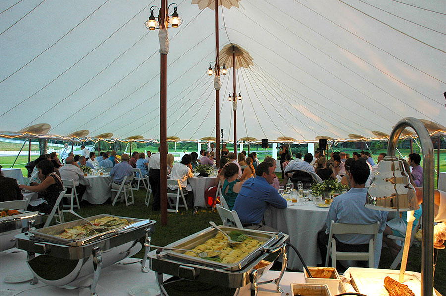 Pineland Farms Events Catering by Black Tie Bistro