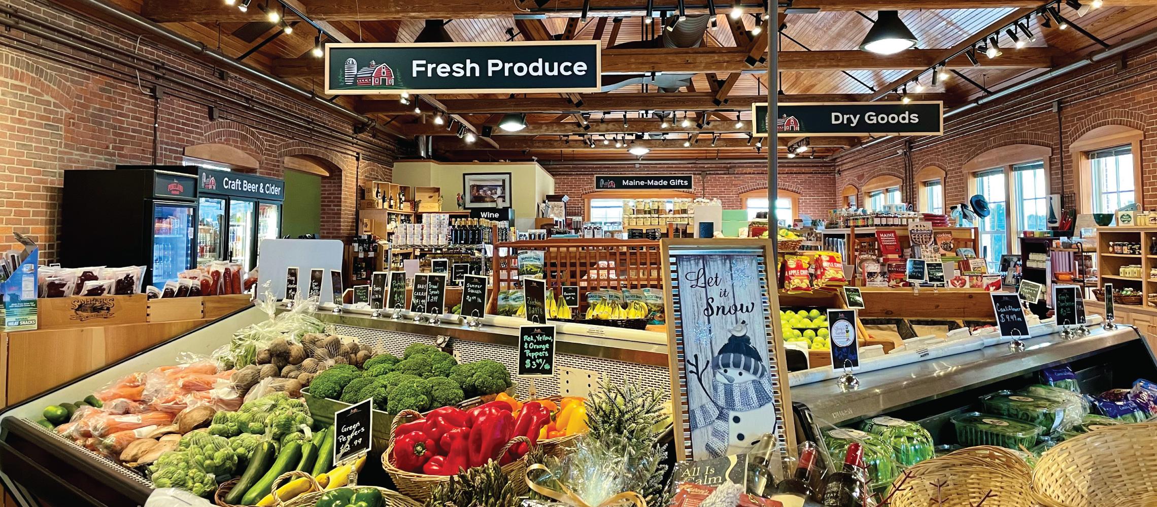 Market at Pineland Farms