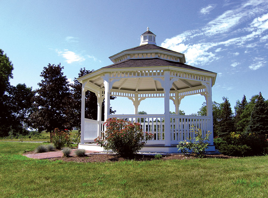 Pineland Farms Victorian-Style Gazebos