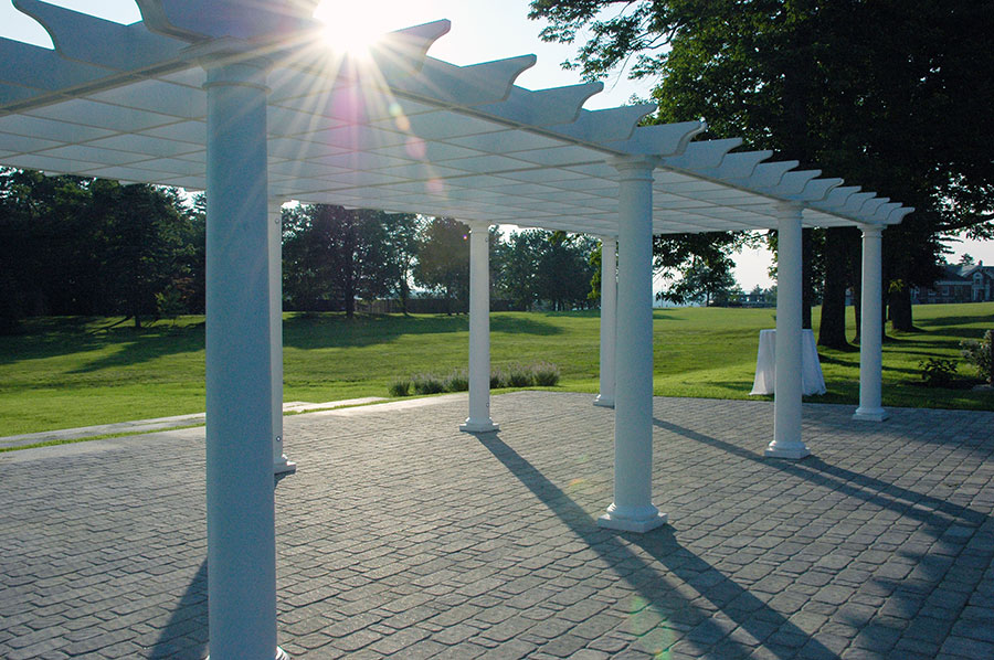 Pineland Farms Old world Pergola