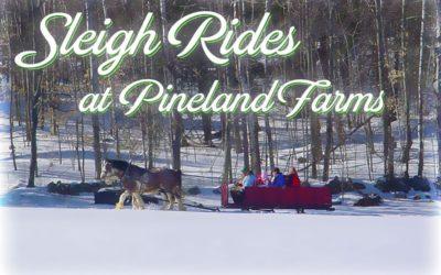 Sleigh Rides at Pineland Farms