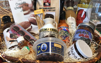 Holiday Gift Baskets at the Market